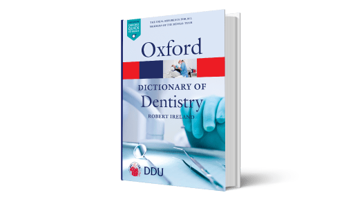 Cover of Oxford Dictionary of Dentistry