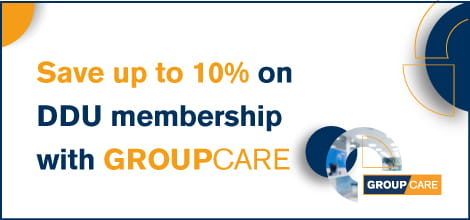 Save up to 10% on DDU membership with GROUPCARE